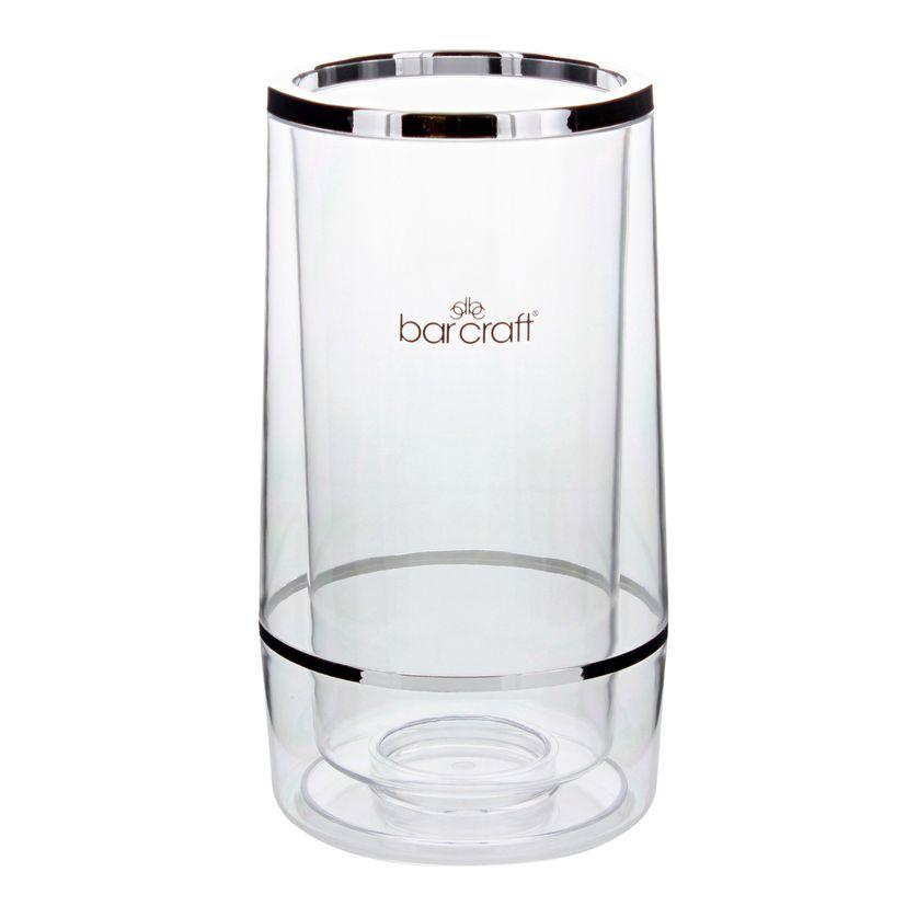 Rafraîchisseur à vin double-paroi acrylique - Barcraft