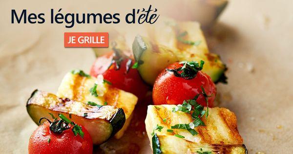 legumes grilles