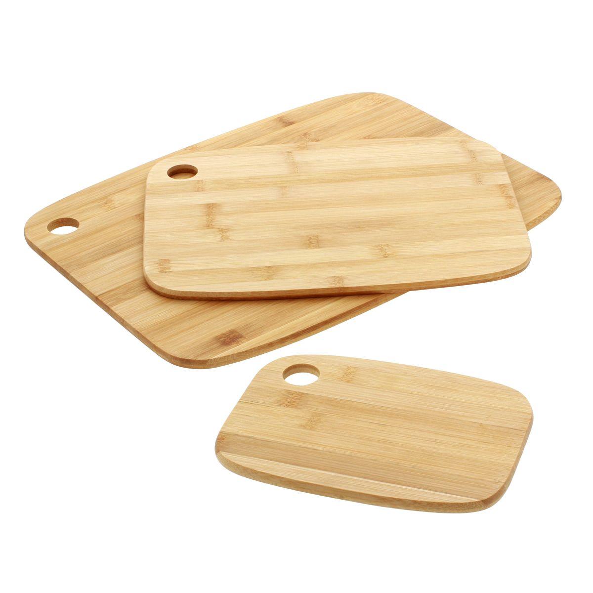 Planche à découper en bambou x3 - Five