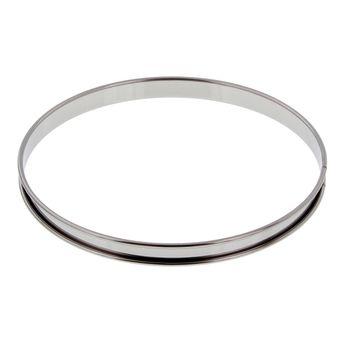 Cercle à tarte inox 28 cm - De Buyer