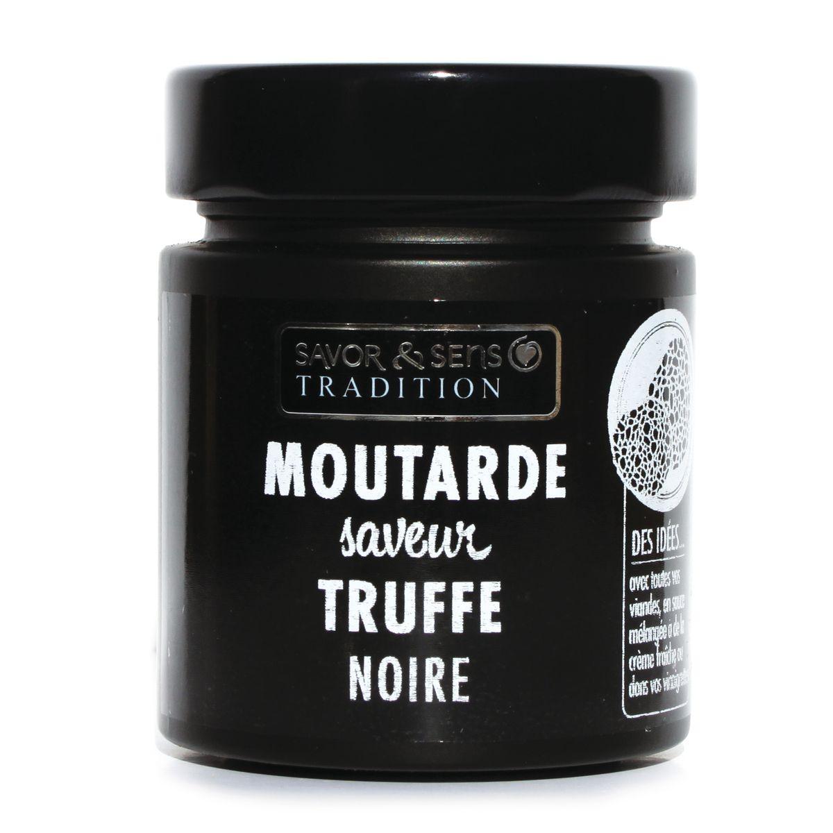 MOUTARDE SAVEUR TRUFFE NOIRE - SAVOR ET SENS