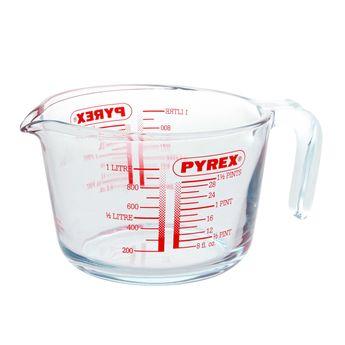 Verre mesureur gradué avec anse 1l - Pyrex