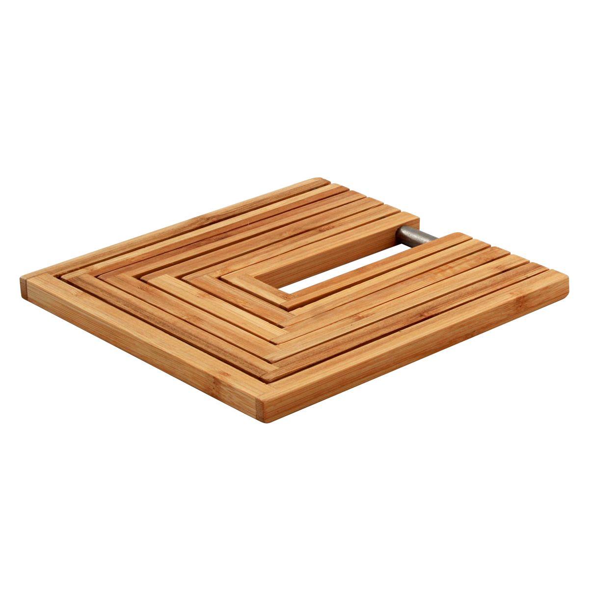 Dessous de plat bambou modulable 19*19*21 - Point Virgule