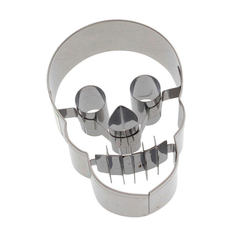 Emporte-pièce crâne 7 cm - Birkmann