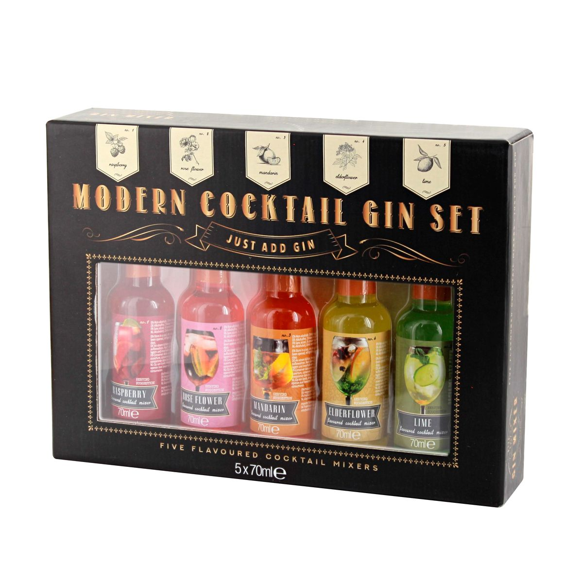 SIROP MODERN COCKTAIL GIN SET - CERF DELLIER