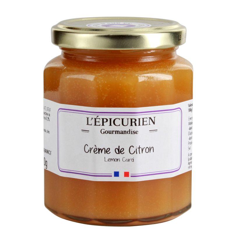 CREME DE CITRON LEMON CURD 320GR - L´EPICURIEN