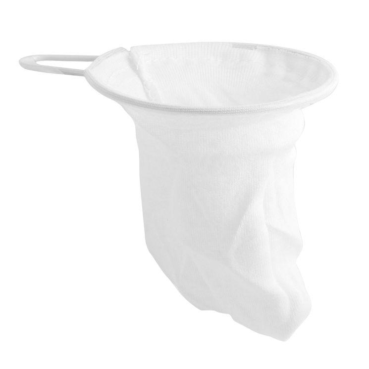 Filtre à thé chaussette coton  - Chevalier Diffusion