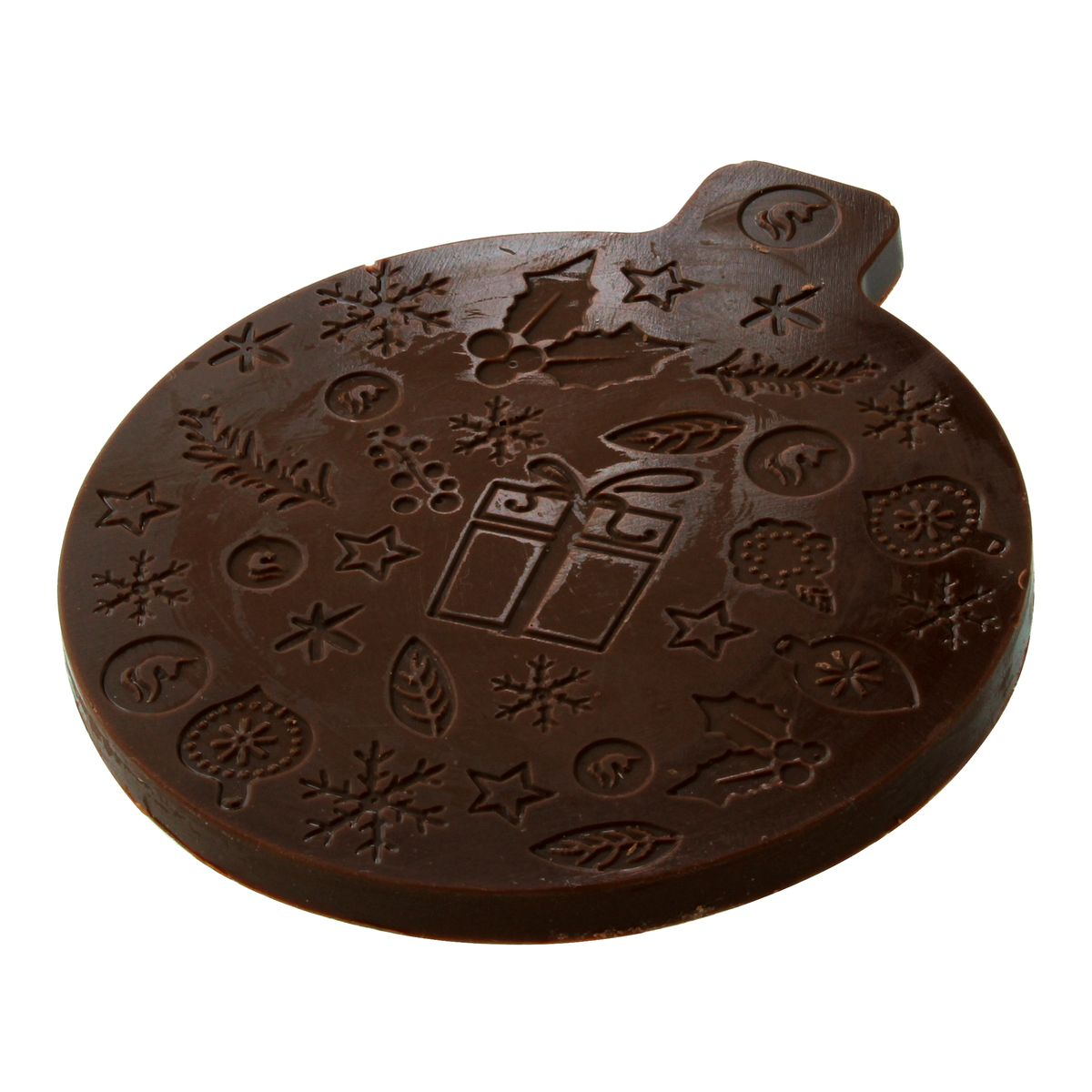 BOULE DE NOEL CHOCOLAT NOIR  - MONBANA