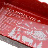 Plat à four tartiflette rouge 33cm - Table & Cook