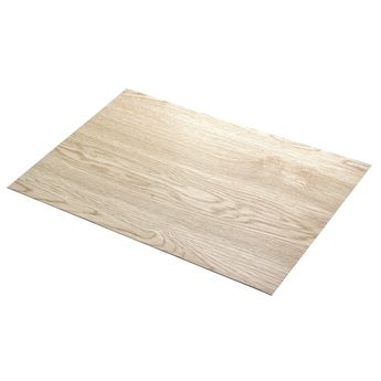 """Set de table aspect """"bois pvc"""" pin nature - Asa Sélection"""