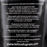 CAFE EN GRAIN BRESIL ACCORD N°2 250GR - LE FOU DU GRAIN