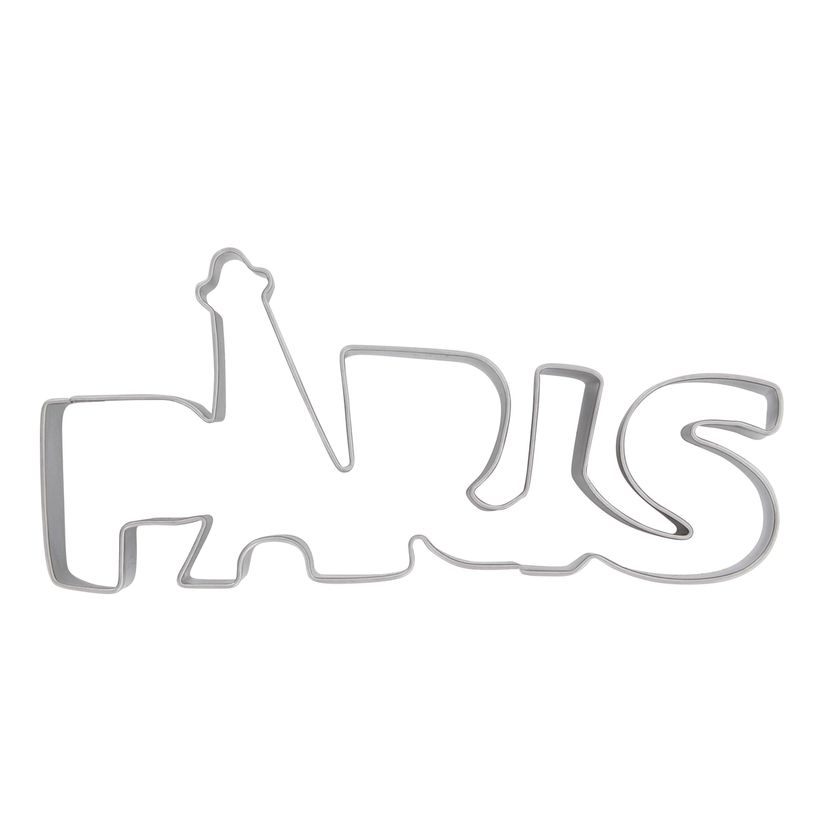 Découpoir Paris en inox 13.8cm - Scrapcooking