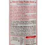 Huile de colza bio fruitée sésame 250ml - La Tourangelle