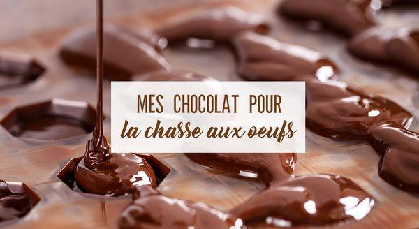 (Format B) Mes chocolats pour la chasse aux oeufs