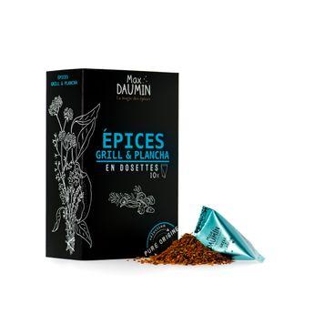 Boîte de 10 dosettes individuelles pour Grill et plancha - Max Daumin