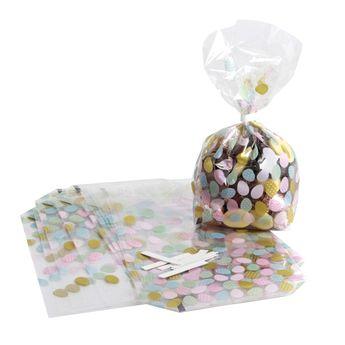 Achat en ligne 10 sachets confiseur œufs 14.5 x 23.5 cm - Zischka