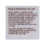 Poule chocolat au lait - Bovetti
