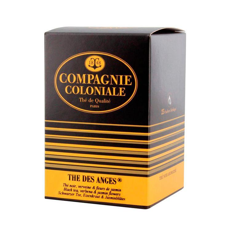Thé noir aromatisé sachet berlingots thé des anges - Compagnie Coloniale
