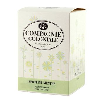 INFUSION VERVEINE MENTHE - COMPAGNIE COLONIALE