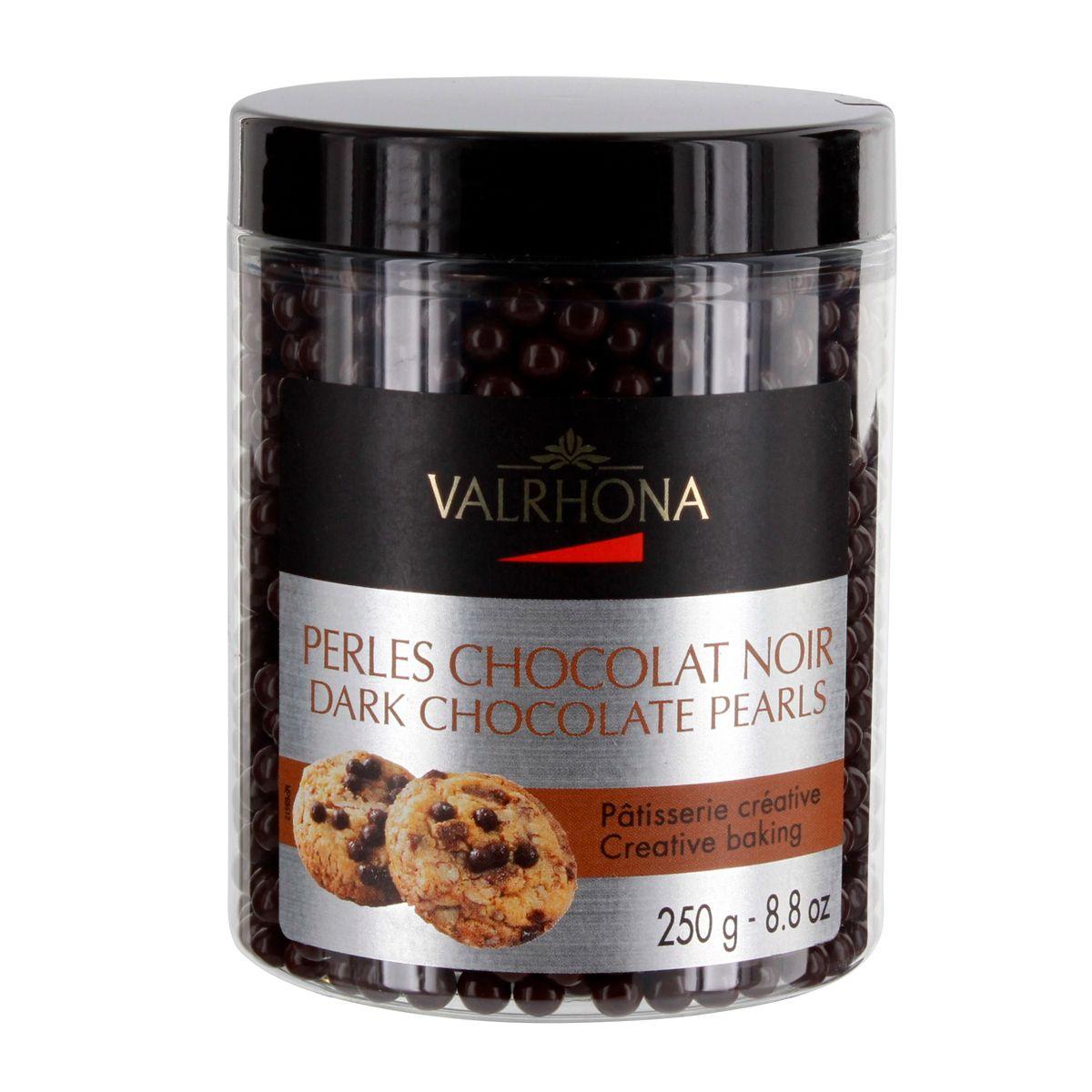 Perles de chocolat noir 250gr - Valrhona