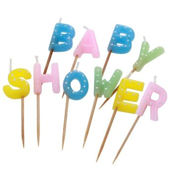 Achat en ligne Bougie baby shower - Creative Party