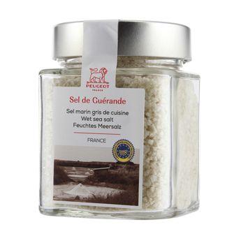 Cube à épices sel marin gris de cuisine 240g - Peugeot