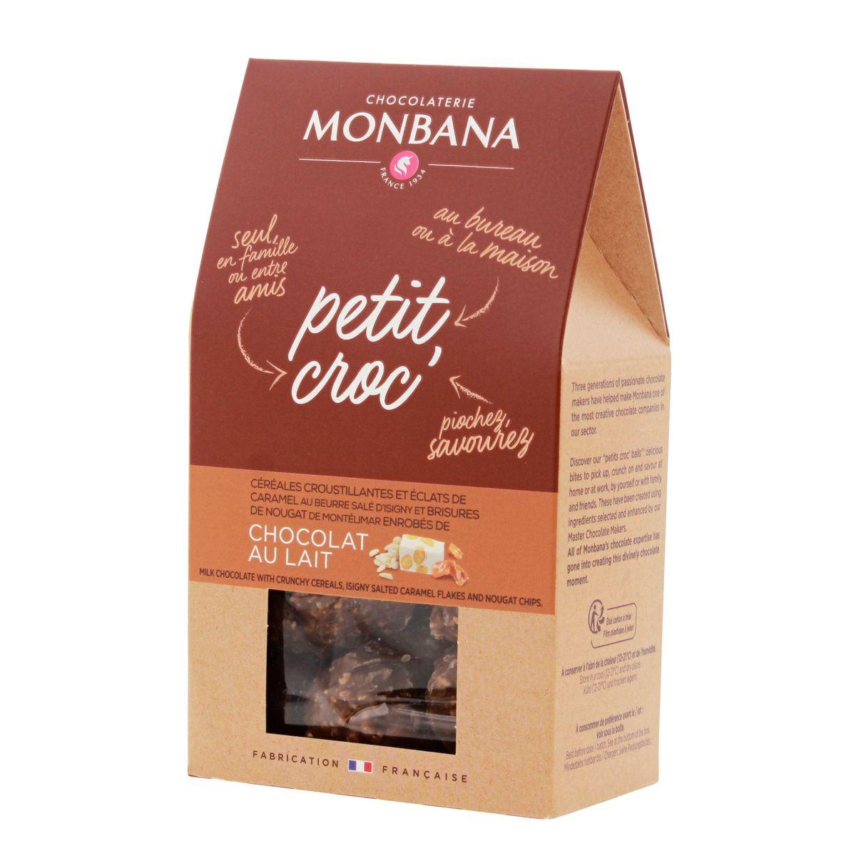 Petit Croc chocolat au lait - Monbana