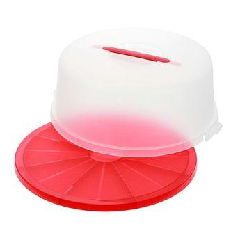 Achat en ligne Boîte à gâteaux ronde rouge 33cm - Emsa
