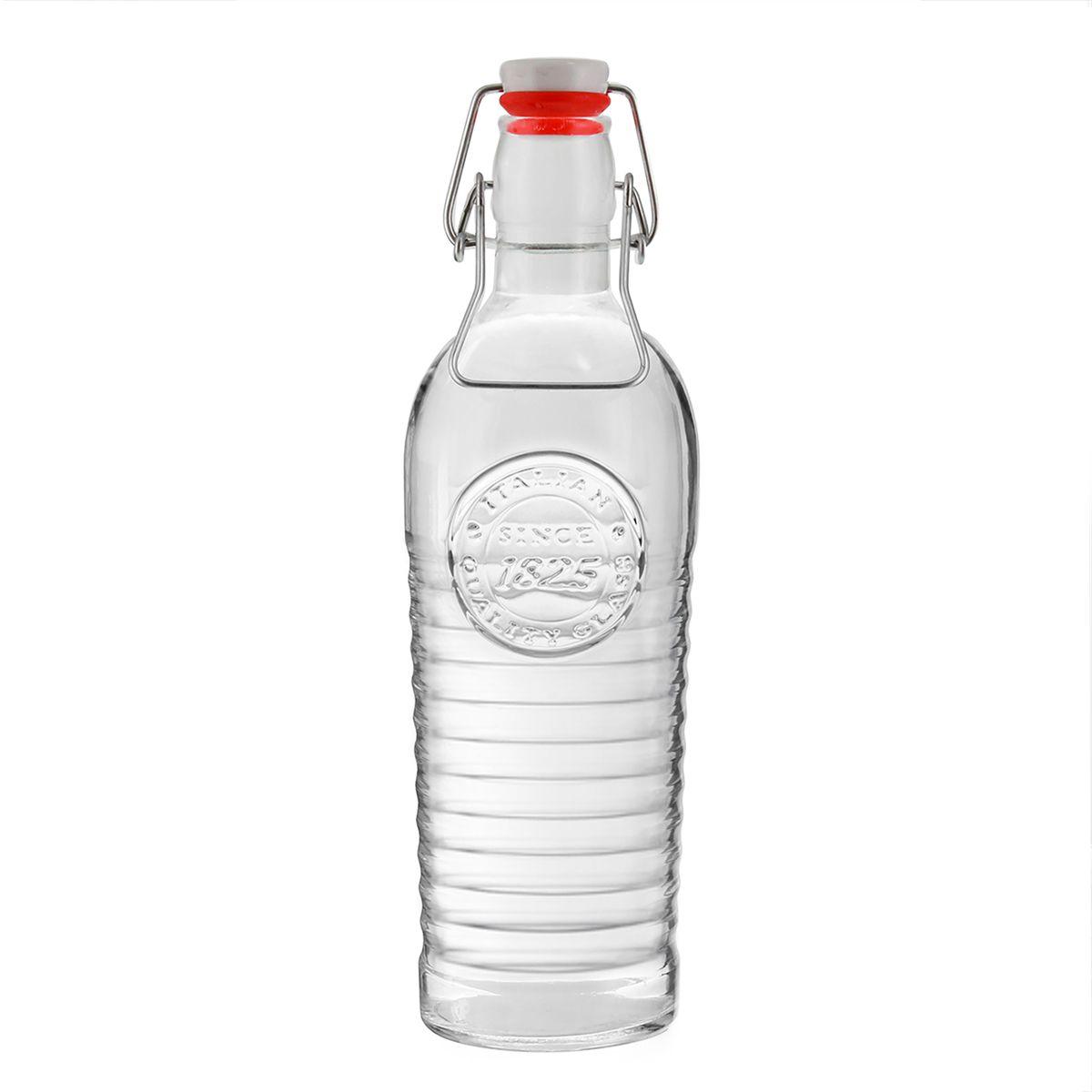 Bouteille Officina en verre transparent 1.2L - Bastide