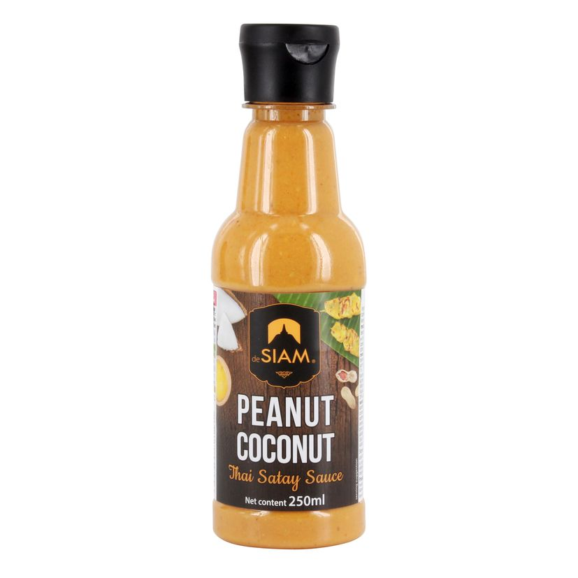 Sauce peanut coconut 250ml - De Siam