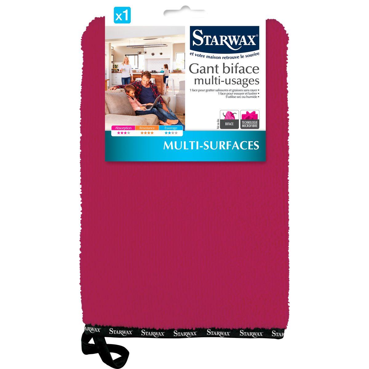 Gant microfibre biface multi-usages - Starwax