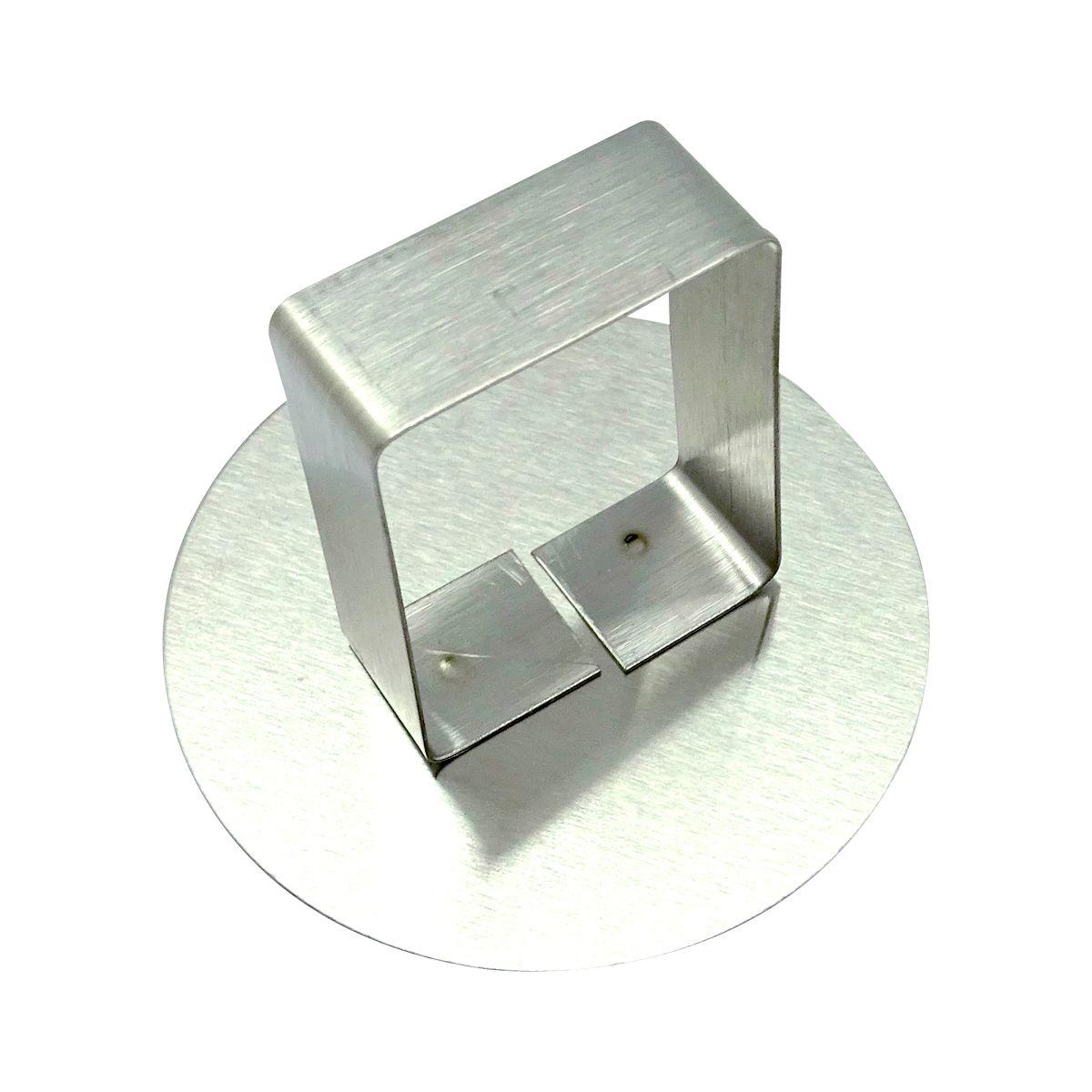 Poussoir inox pour cercle de 7 cm