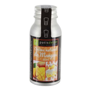 Arôme alimentaire naturel mangue 50 ml - Patisdecor