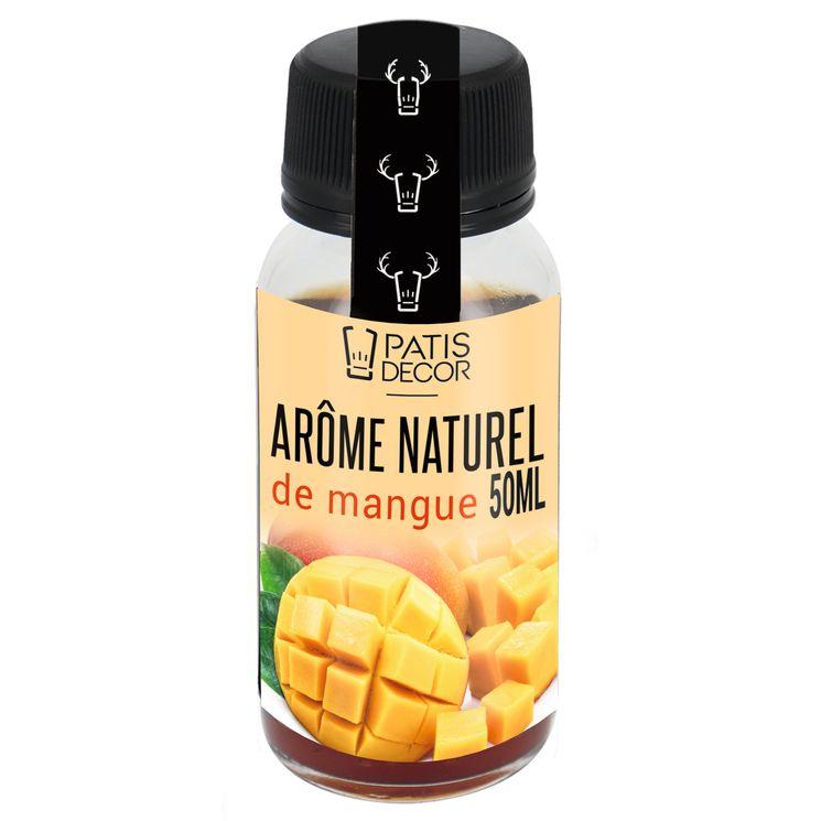 Arôme alimentaire naturel mangue - Patisdecor
