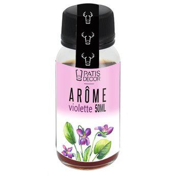 Achat en ligne Arôme alimentaire naturel violette 50 ml - Patisdecor