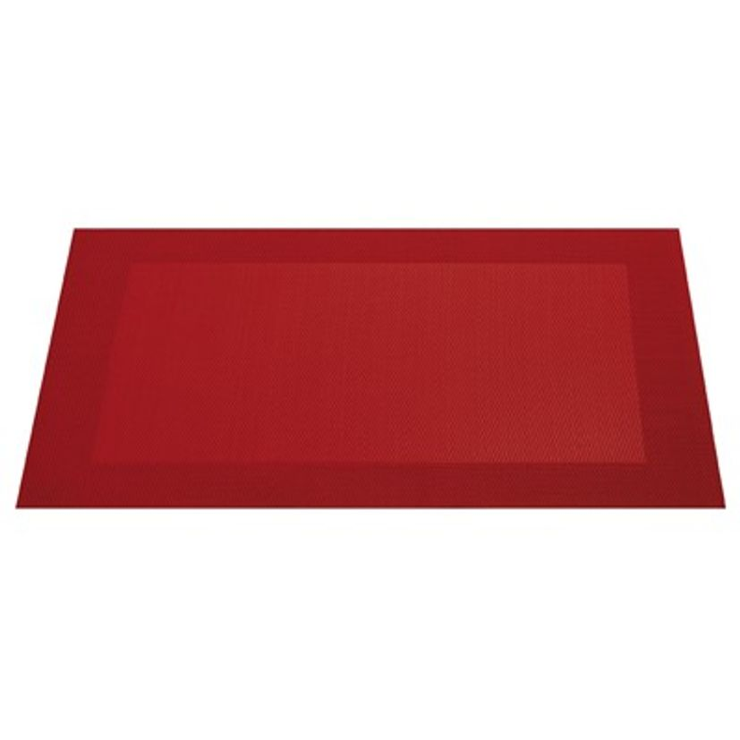 SET TABLE PLASTIQUE ROUGE - ASA