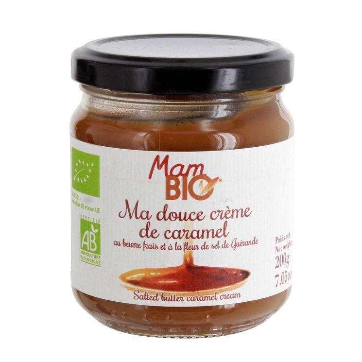 Crème de caramel bio 200gr - La Maison d´Armorine