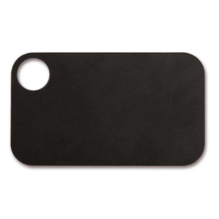 Planche à découper noire en papier compressé 24 x 14 cm - Arcos