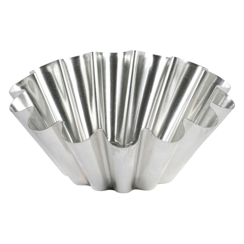 Moule à brioche en fer blanc 22 cm - Gobel