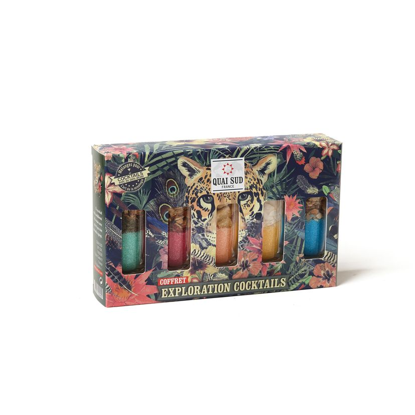Coffret Exploration Cocktails 145gr - Quai Sud