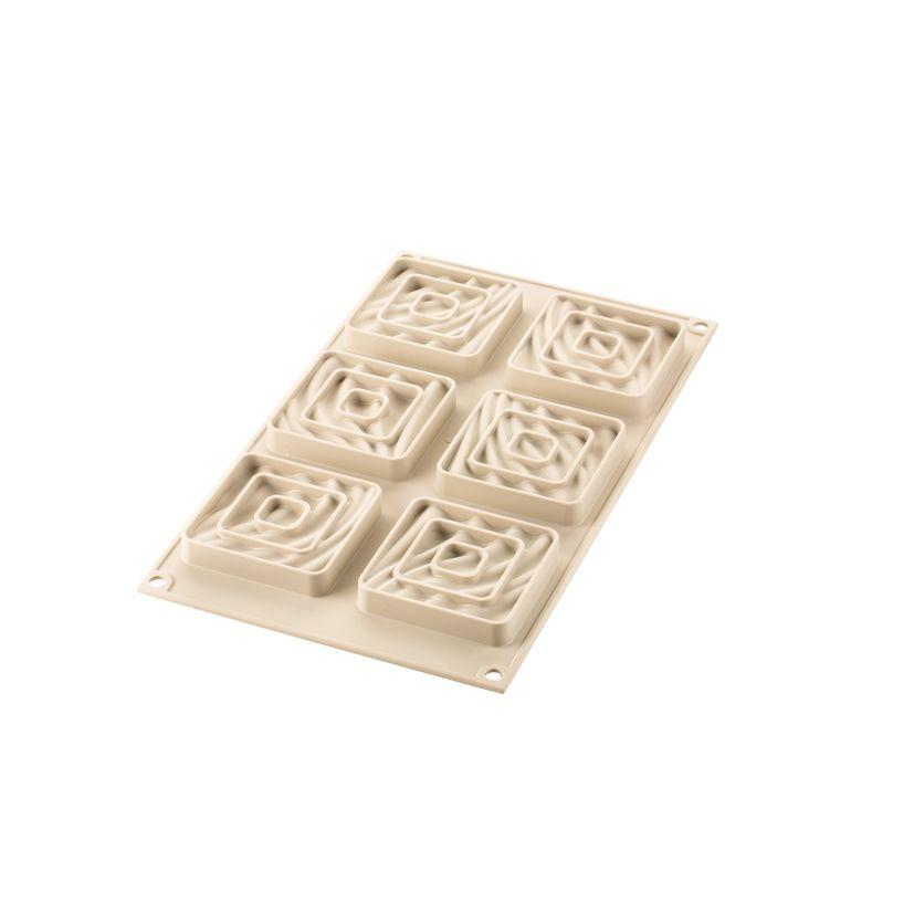Kit mini tarte 3D Sand - Silikomart