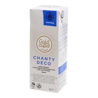 Brique crème UHT chantilly végétale sucrée 1l - Vandemoortelle Lipids