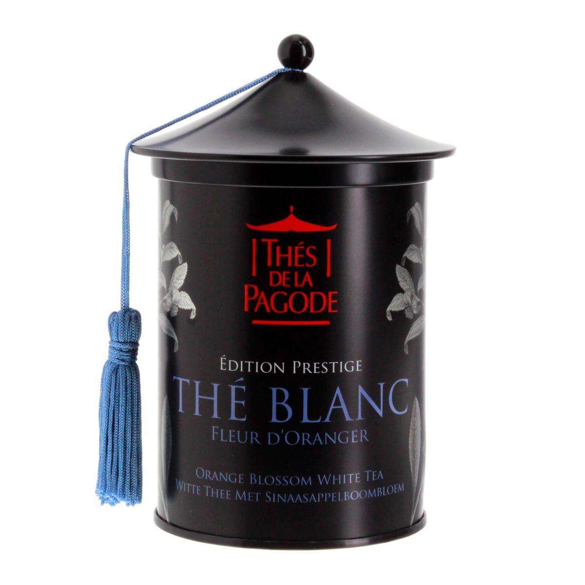 Thé blanc bio fleur d´oranger édition prestige 100gr - Thés de la Pagode