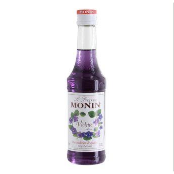 Achat en ligne Sirop violette 25cl - Monin