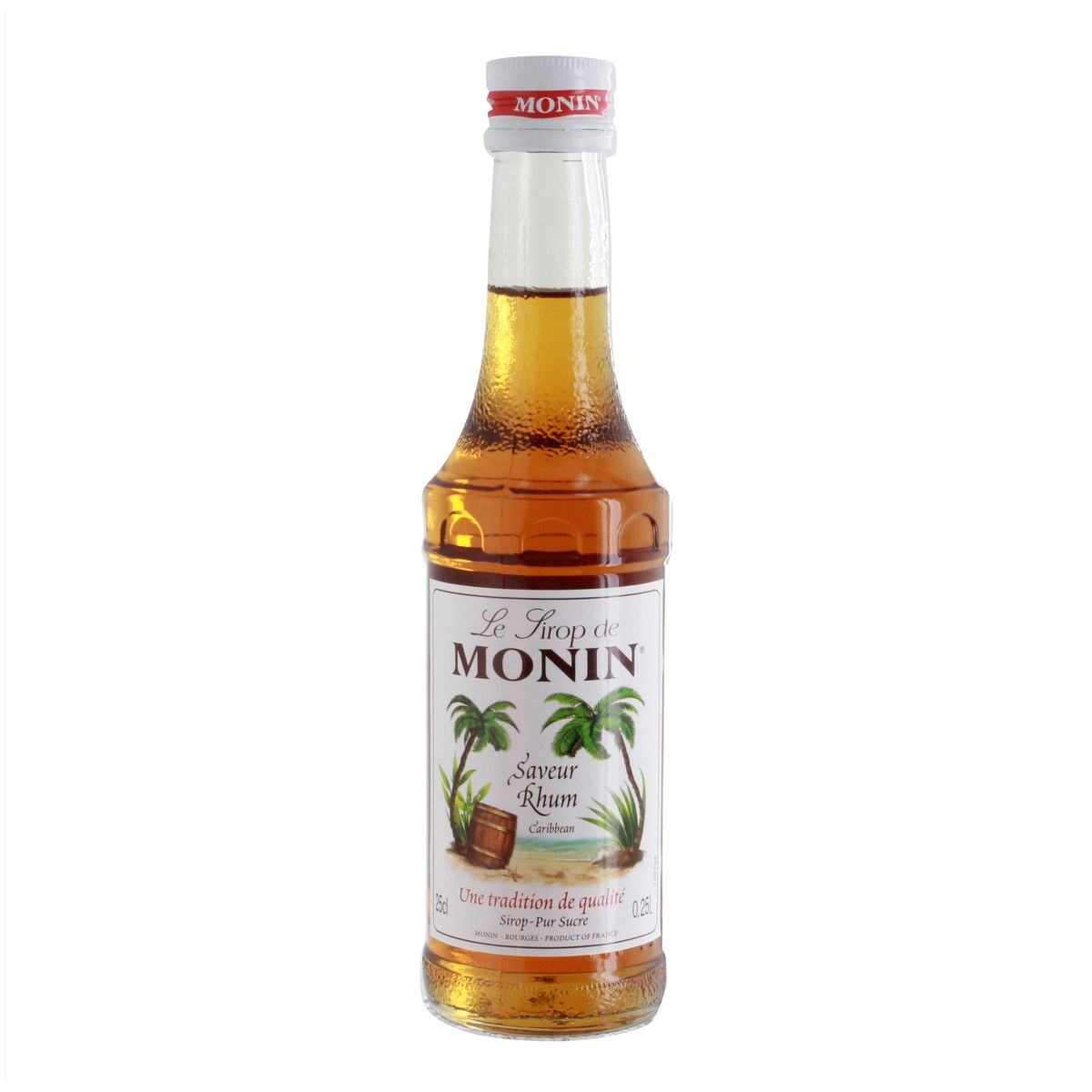 Sirop 25 cl saveur rhum - Monin