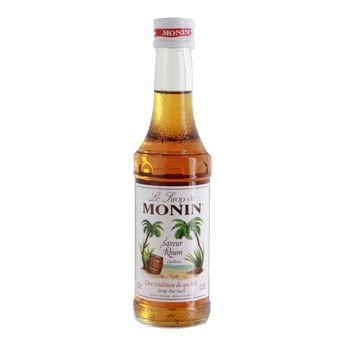 Achat en ligne Sirop saveur rhum 25 cl - Monin