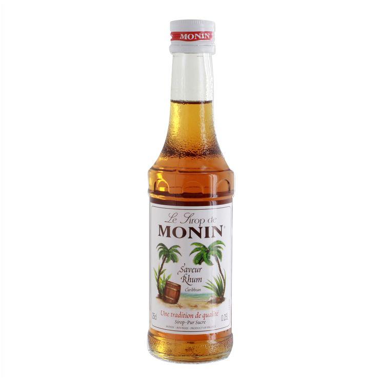Sirop saveur rhum 25cl - Monin
