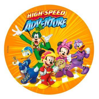Disque en azyme Mickey et ses amis 20 cm - Dekora