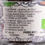 Graines de Chia bio 120gr - Trésors de Chefs
