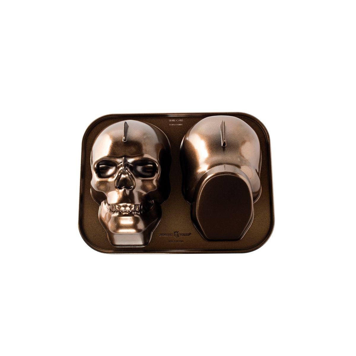 Moule crâne en fonte d´aluminium - Nordic Ware